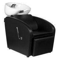 Kadeřnický mycí box GABBIANO BERGEN - černý