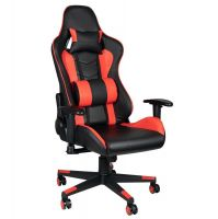 Herní židle PREMIUM 557 - černo-červená