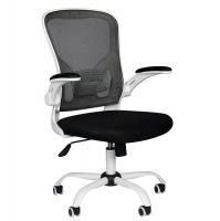 Kancelářská židle COMFORT 73 - černo-bílá