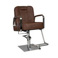 GABBIANO Barber křeslo HS88011B - hnědé