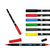 Oboustranné pero - TOMBOW černé