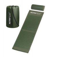 Akupresurní podložka s polštářkem - tmavě zelená