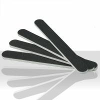 Pilník na nehty černý - rovný 80/100
