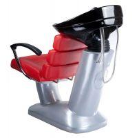 Kadeřnický mycí box FIORE BR-3530B červený