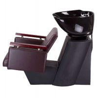 Kadeřnický mycí box MILO BD-7825 hnědý