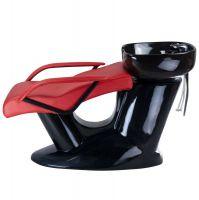 Kadeřnický mycí box Vera BR-3515 červený