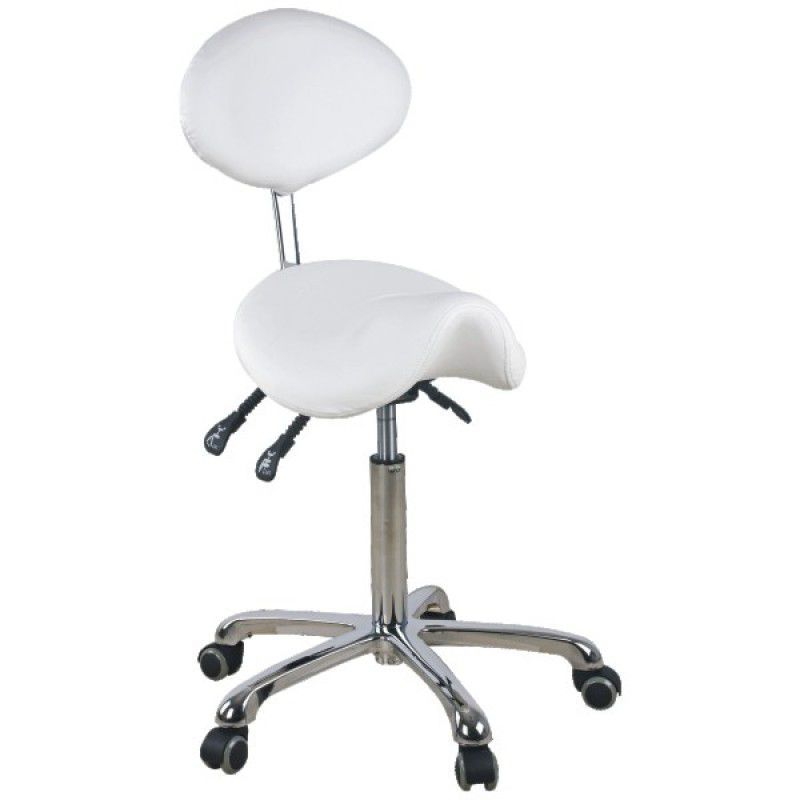 Kosmetická židle Giovanni 1025 bílá