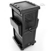 Kadeřnický vozík 100C černý (AS)