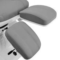 Kosmeticko-pedikérské elektrické křeslo AZZURRO 870S PEDI - šedé (AS)