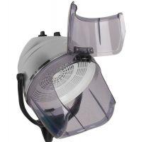 Vysoušecí helma na stojanu LI 202S - stříbrná - dvě úrovně foukání