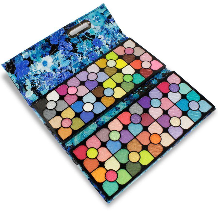 Miss Doozy - paleta očních stínů - pouzdro 100 barev YF-9896