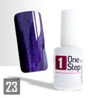 One Step gel UV/LED 3v1 perleťová švestka 15ml (A)