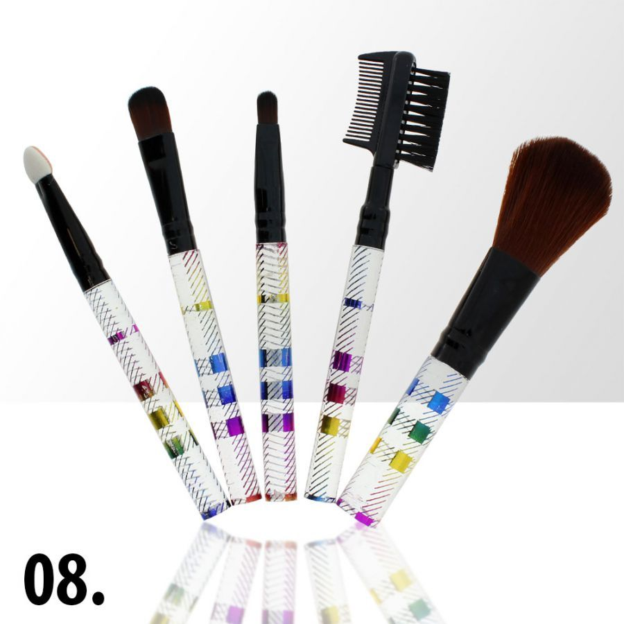 Sada štětců na make-up 8 (5ks)