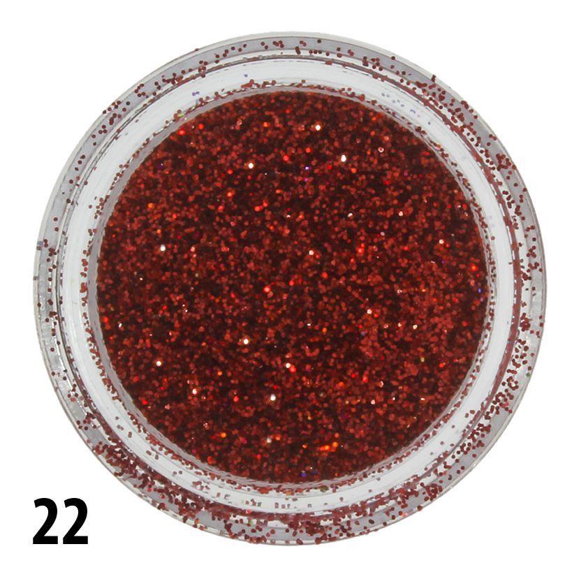 Glitterový prach č. 22 - nádobka
