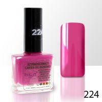 Lak na nehty NTN - 224 rubínový - 10ml (A)