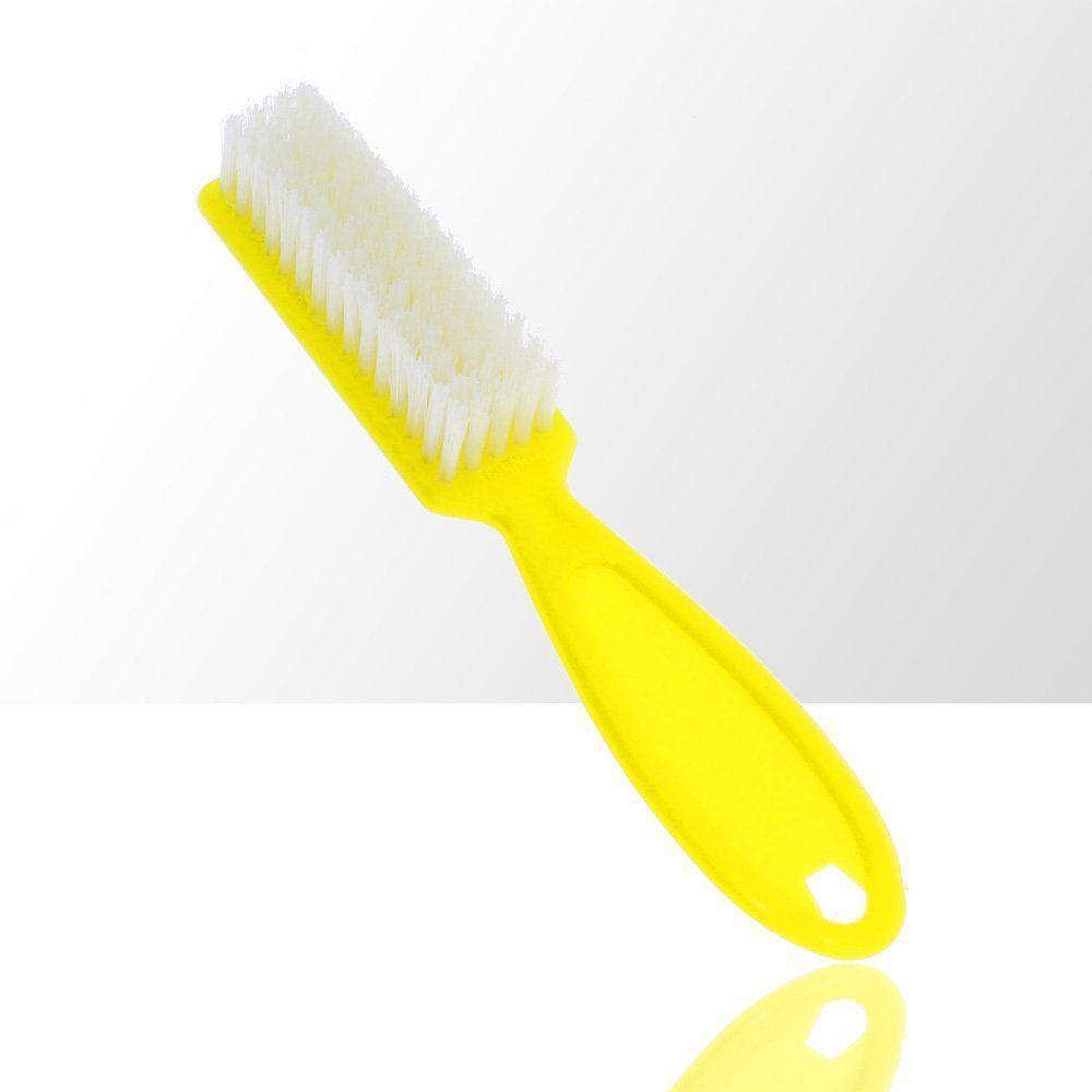 Kartáček na manikúru a prach žlutý