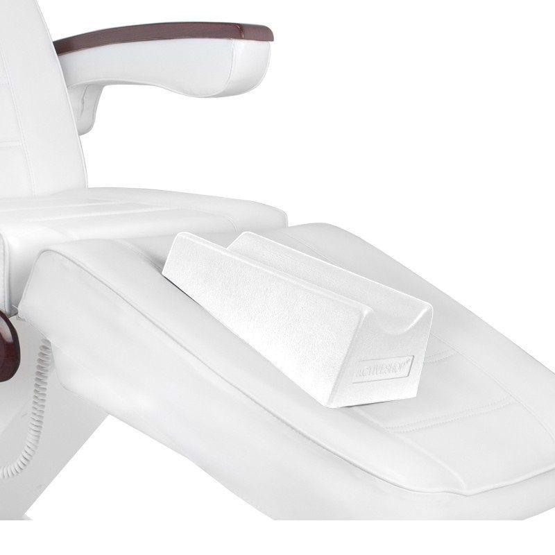 Podnožka na pedikérská křesla bílá
