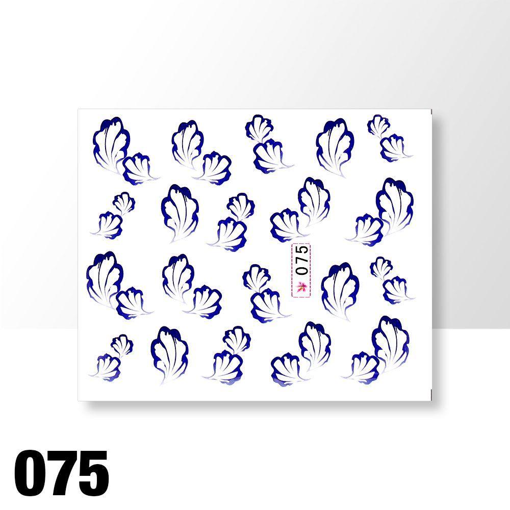 Vodolepky na zdobení nehtů č. 075