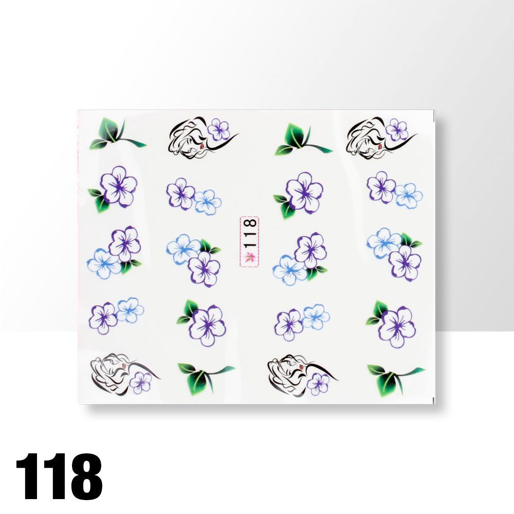 Vodolepky na zdobení nehtů č. 118
