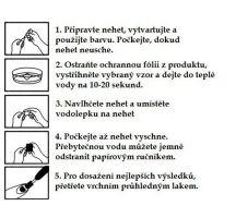 Vodolepky na zdobení nehtů č. 153