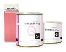 Depilační vosk z Řecka SIMPLE USE titanium - plechovka 800ml