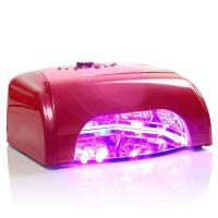 LED UV lampa se sušičkou K1 36W - tmavě růžová (A)