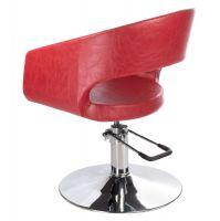 Kadeřnické křeslo PAOLO BH-8821 červené