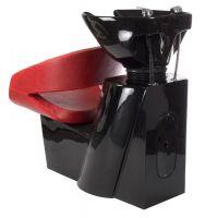 Kadeřnický mycí box PAOLO BH-8032 červený