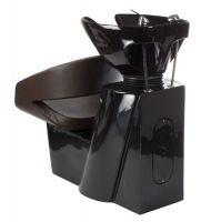 Kadeřnický mycí box PAOLO BH-8032 hnědý