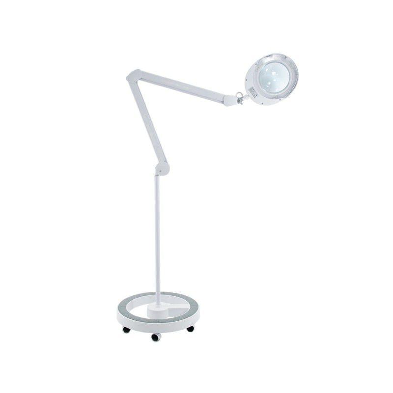 Lampa s lupou na stativu ELEGANTE 6025 60 LED SMD 5D