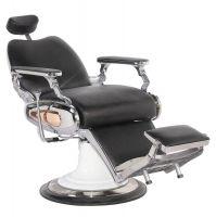 Barbers holičské křeslo MOTO STYLE černé
