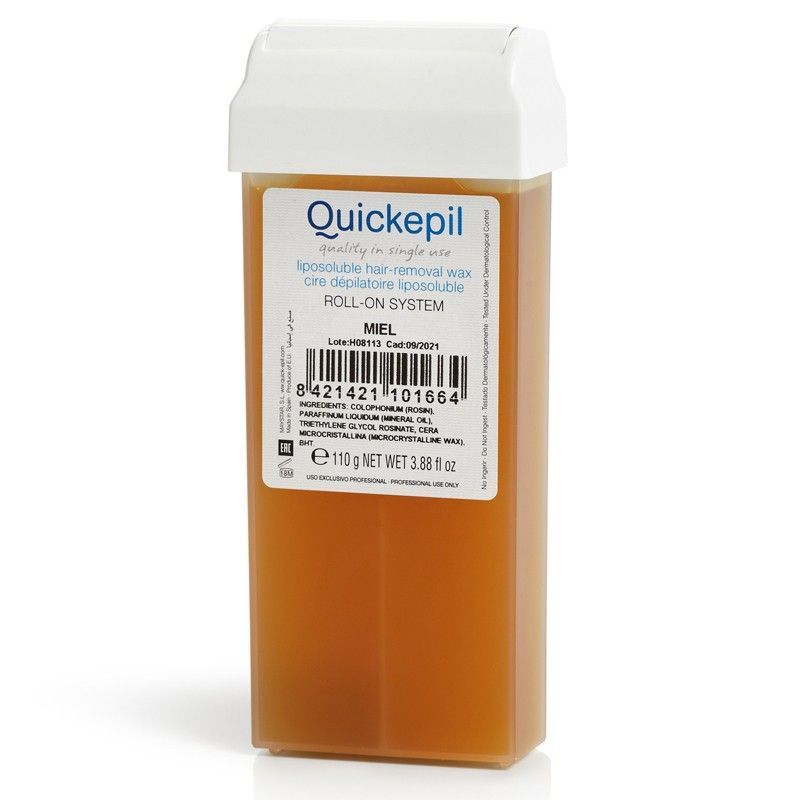 Depilační vosk QUICKEPIL - rolka 100g natural