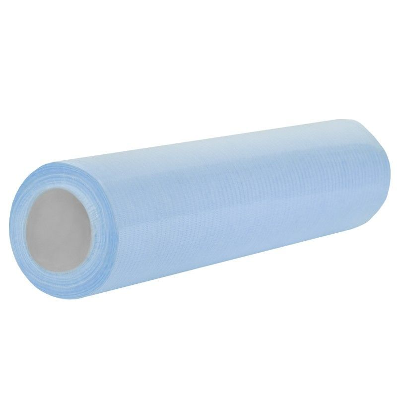 Jednorázová kosmetická papírová role modrá