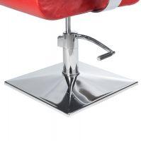 Kadeřnické křeslo VITO BH-8802 červené (BS)