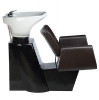 Kadeřnický mycí box VITO BH-8022 hnědý (BS)