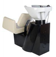 Kadeřnický mycí box VITO BH-8022 krémový (BS)