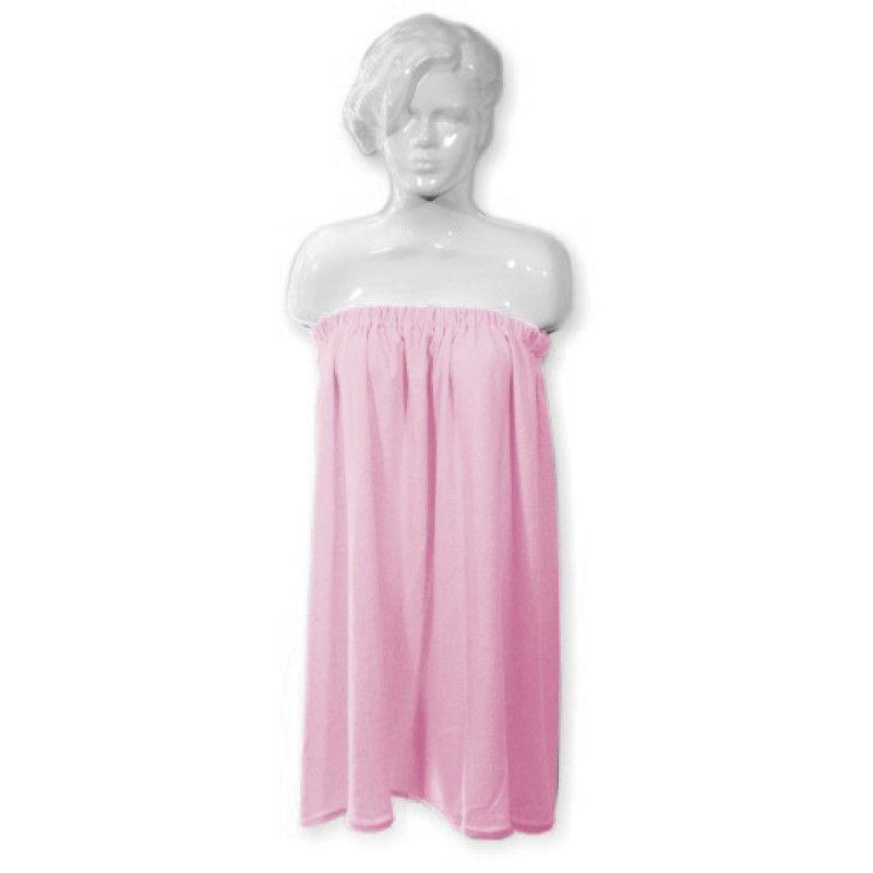 Kosmetická froté pelerína růžová