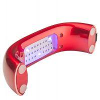 UV LED lampa 9W + TIMER červená