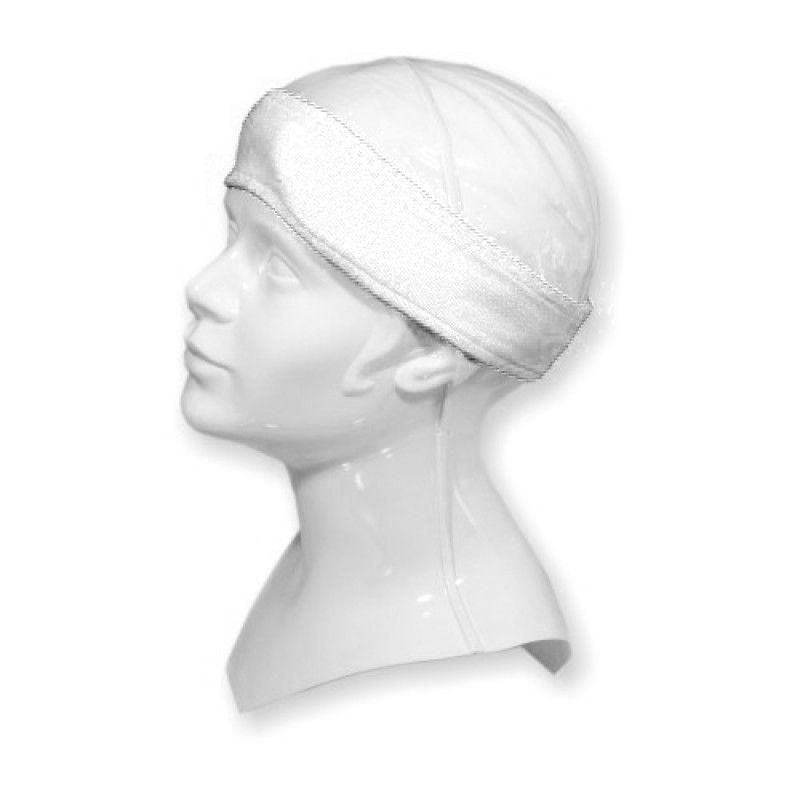 Čelenka froté - kosmetická - bílá (č.1)