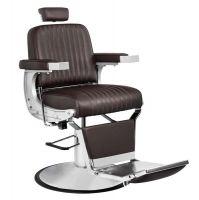 Barbers křeslo GABBIANO CONTINENTAL hnědé (AS)