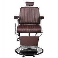 Barbers - holičské křeslo GABBIANO CONTINENTAL hnědé