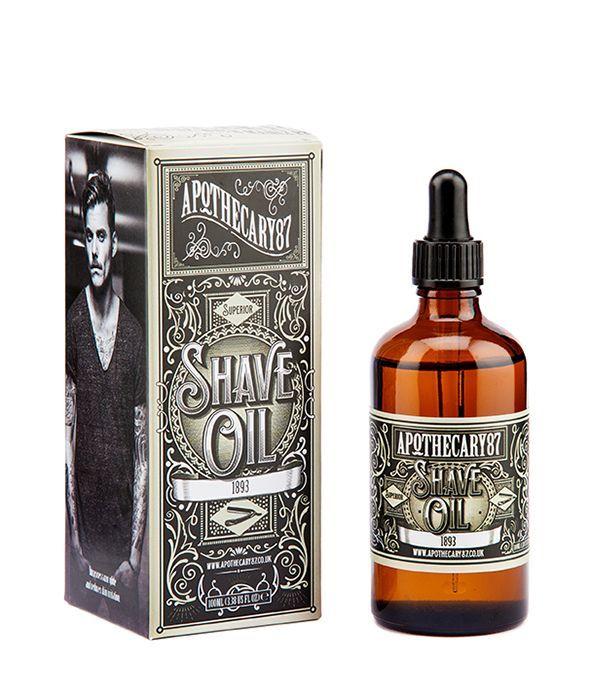 Olejíček na holení APOTHECARY 87-1893 Shave Oil 100ml