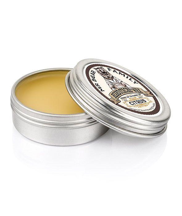 Vosk na vousy a kníry MR. BEAR - Beard Stache Wax Citrus 30ml