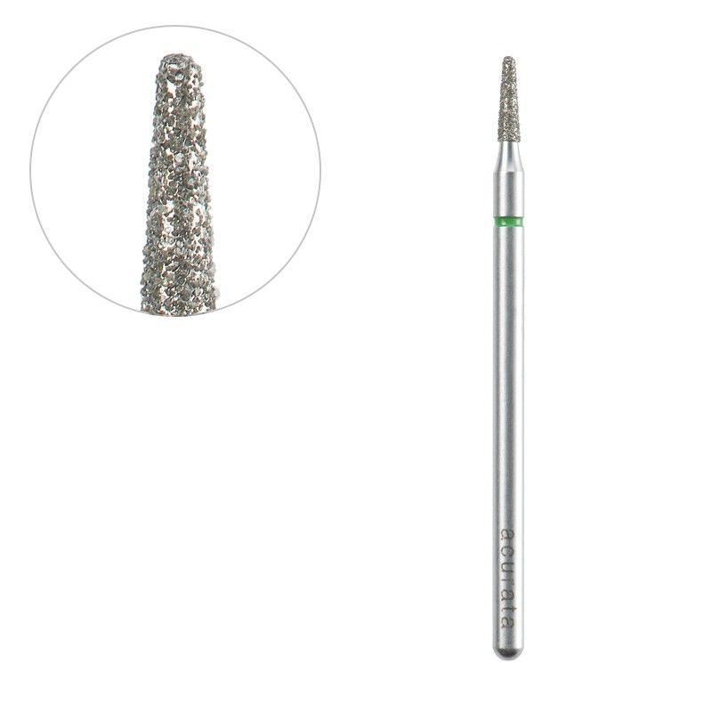 Frézka na pedikúru diamantová kužel 1,6/6,0mm ACURATA