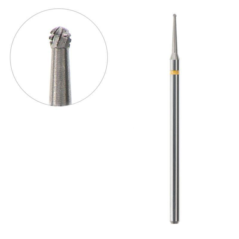 Frézka na pedikúru ocelová kulička 0,8/0,8mm ACURATA