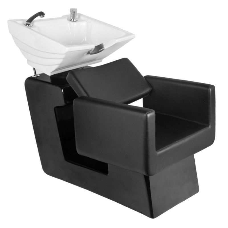 Kadeřnický mycí box GABBIANO TURIN černý