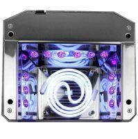UV LED + CCFL lampa DIAMOND 2v1 36W TIMER + SENSOR růžová