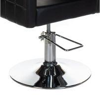 Kadeřnické křeslo ERNESTO BM-6302 černé
