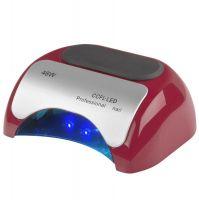 Lampa PROFESSIONAL 2v1 UV LED+CCFL 48W TIMER+SENSOR červená (AS)