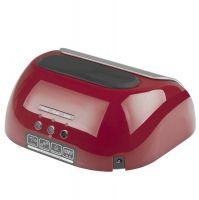 Lampa PROFESSIONAL 2v1 UV LED+CCFL 48W TIMER+SENSOR červená